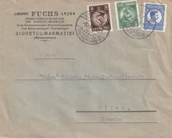Roumanie Lettre  Pour La Suisse 1931 - 1918-1948 Ferdinand, Charles II & Michael