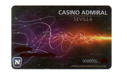 CARD MEMBER CASINO ADMIRAL SEVILLA - Casinokaarten