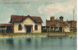 Osteria Capri In Liege Exhiubition 1905  Official Card . Back Sent To Amynthe Brusseau - Altre Città