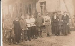 Carte Photo Militaire  Guerre De 1914 - Guerra 1914-18