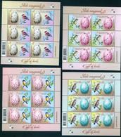 Belarus 2020 Eggs Of Birds Fauna Bird 4 Klbg Shtl MNH - Belarus