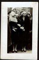 Carte Photo - Royauté - Royalty  - Belgique - Reine Astrid Et Princesse Joséphine-Charlotte - 2 Scans - Case Reali