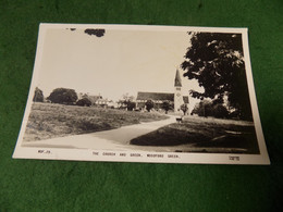 VINTAGE UK LONDON: WOODFORD GREEN Church And Green B&w 1961 Frith - Altri