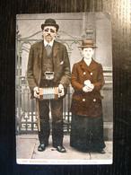 Joe Blackburn, The Blind Musician And Wife - Pre 1918 - Artisti