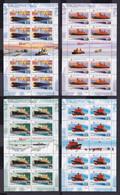 RUSSIA 2009 #1320-1323. 50th Anniversary Of Nuclear Russian Navy. 4 M/s MNH - Blocchi & Fogli