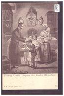 FREITAG ABEND - SCENE OF JEWISH LIFE IN FRANKFURT BY HERMANN JUNKER - TB - Jodendom