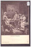 SABBATH AUSGANG - SCENE OF JEWISH LIFE IN FRANKFURT BY HERMANN JUNKER - TB - Jodendom