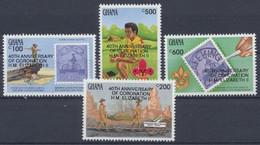 Ghana, Michel Nr. 1842-1845, Postfrisch - Ghana (1957-...)