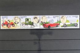 Uganda, MiNr. 1308-1311, Viererstreifen, Postfrisch / MNH - Oeganda (1962-...)