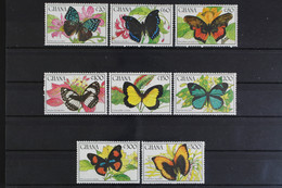 Ghana, Schmetterlinge, MiNr. 1354-1361, Postfrisch / MNH - Ghana (1957-...)