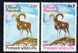 Pakistan 1975 Wildlife Protection II Set Of 2, MNH, SG 400/1 (E) - Pakistan