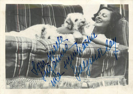 Gaby MORLAY (1893-1964) - ACTRICE - AUTOGRAPHE - PHOTOGRAPHIE ANCIENNE D'EPOQUE Par Edwin HICL (13 X 18 Cm). - Signed Photographs