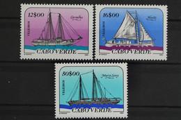 Kap Verde, Schiffe, MiNr. 523-525, Postfrisch / MNH - Kaapverdische Eilanden