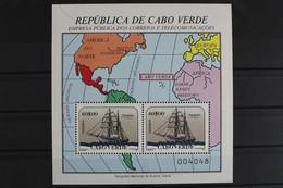Kap Verde, Schiffe, MiNr. Block 11, Postfrisch / MNH - Kaapverdische Eilanden