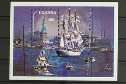 Uganda, Schiffe, MiNr. Block 61, Postfrisch / MNH - Oeganda (1962-...)