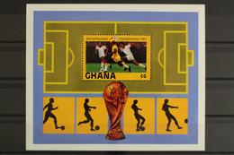 Ghana, MiNr. Block 97, Fußball WM 1982, Postfrisch / MNH - Ghana (1957-...)