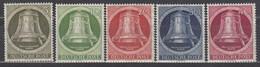 BERLIN 82-86, Postfrisch **, Freiheitsglocke, Klöppel Nach Rechts 1951 - Unused Stamps