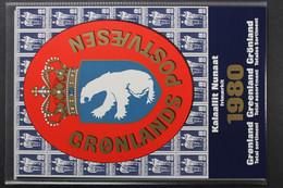 Grönland, MiNr. 119-125, Jahresmappe 1980, Postfrisch / MNH - Volledige Jaargang