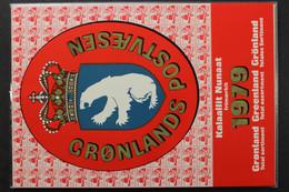 Grönland, MiNr. 112-118, Jahresmappe 1979, Postfrisch / MNH - Volledige Jaargang
