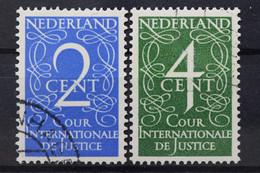 Niederlande Dienst, MiNr. 25-26, Gestempelt - Zonder Classificatie