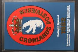 Grönland, MiNr. 133-139, Jahresmappe 1982, Postfrisch / MNH - Volledige Jaargang