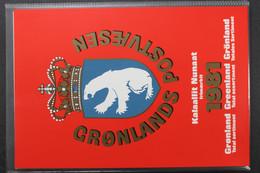 Grönland, MiNr. 126-132, Jahresmappe 1981, Postfrisch / MNH - Volledige Jaargang