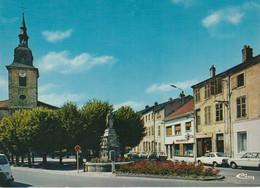 N°6509 R -cpsm Rosieres Aux Salines -la Place St Pierre Et L'église- - Sonstige Gemeinden