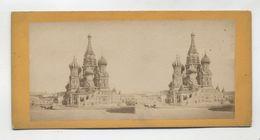 Photos Stéréoscopiques - RUSSIE - MOSCOU - Cathédrale Saint Basile - - Stereo-Photographie