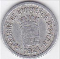 Algérie -  Chambre De Commerce D'Oran -  5 Centimes 1921 -  Aluminium - Algeria