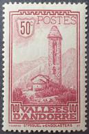 R2062/184 - 1932/1933 - ANDORRE FR. - PAYSAGE - N°35 NEUF* - Ungebraucht