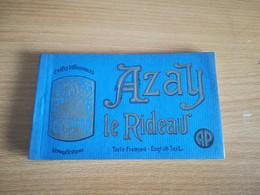 CARNET AZAY LE RIDEAU 20 CARTES - Azay-le-Rideau