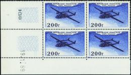 France Coins Datés Poste Aérienne N°31 200F Noratlas  19.1.59 ** - Ecken (Datum)