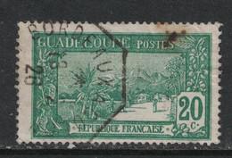 Guadeloupe - Yvert 80 Oblitération PAQUEBOT - Scott#64 - Usados