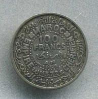 100 Francs, MAROC (argent) - Marokko