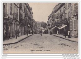 70) LUXEUIL LES BAINS - Rue Carnot - Luxeuil Les Bains