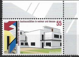 2004 Deutschland  Allem. Fed. Germany  Mi. 2394**MNH EOR  UNESCO-Welterbe : Bauhausstätten In Weimar Und Dessau. - Nuevos