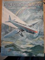Illustration Aéronautique 1934 Santos Dumont Mort De L'aviation Farman Transport Aérien Armement - L'Illustration