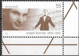 2004 Deutschland  Allem. Fed. Germany  Mi. 2390**MNH EUR 100. Geburtstag Von Joseph Schmidt - Nuevos
