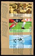 Bund 2008,Michel# 2649 - 2651 O Sporthilfe - Gebraucht