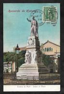 CPA Cuba Recuerdo De Habana Estatua De Marti - Statue Of Marti - Cuba