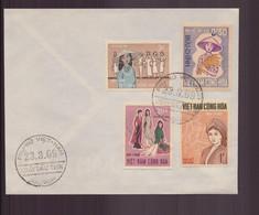 """Vietnam, FDC Enveloppe Du 23 Mars 1969 à Saïgon """" Anniversaire Des Soeurs Trung """" - Vietnam"""