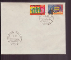 Vietnam, FDC Enveloppe Du 1 Juin 1969 à Saïgon - Vietnam