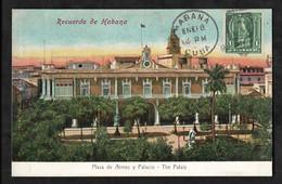 CPA Cuba Recuerdo De Habana Plaza De Armes Y Palacio - The Palace - Cuba