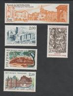 ANNÉE  1986 -   N° 2401  à 2405 - Série Artistique   - 5  Val    -   Neufs Sans Charnière  - - Nuovi