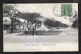 CPA Cuba Santiago De Cuba Alameda Mitchaelson - Mitchaelson Avenue - Cuba