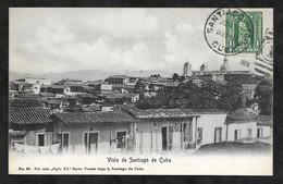 CPA Cuba Vista De Santiago De Cuba - Cuba