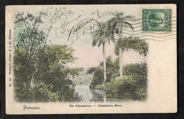 CPA Cuba Habana Rio Almendares - Almendares  River - Cuba
