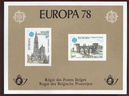 BELGIQUE / BELGIE COB LX 67 ** MNH EUROPA 1978 CEPT , COB = 100 € (4LX21) , LUXE Staat ! LOT 327 - Luxevelletjes