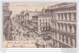 Berlin - Leipzigerstrasse - (animée - Tramways - Oblitération De 1903) - Ohne Zuordnung