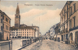 (C).Portogruaro(Ve).Piazza Vittorio Emanuele.F.to Piccolo (c17) - Venezia (Venedig)